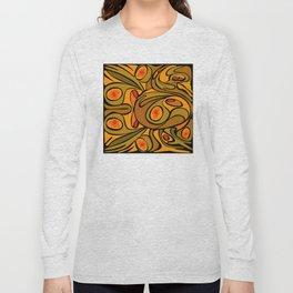 Rooster DeKooning Long Sleeve T-shirt
