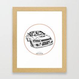 Crazy Car Art 0196 Framed Art Print