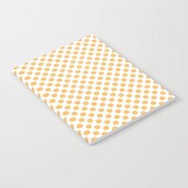 Orange Slices Fruit Pattern Notebook
