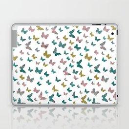 butterflies_pink Laptop & iPad Skin