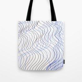 Waves Lines Tote Bag
