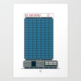 Torre Capriles Art Print