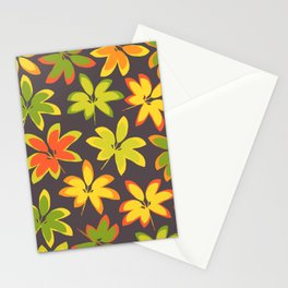 fall season colors Stationery Cards