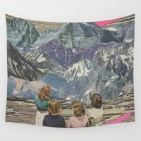 rocks Wall Tapestries featuring Rocks by Sarah Eisenlohr