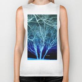 """"""" Trees In Winter """" Biker Tank"""