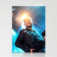 gorillaz Stationery Cards featuring Damon Albarn (Blur) - II by Tomás Correa Arce (RockMe TommyBoy)