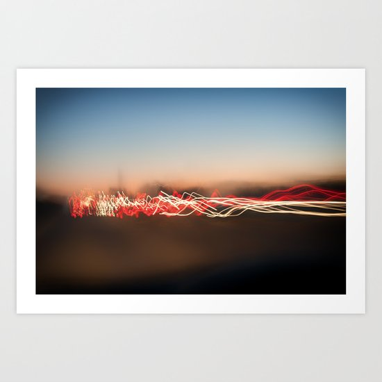 Light Waves Art Print