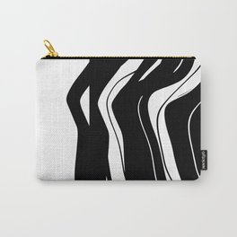 Organic No.5 Black & White #design #society6 #artprints Carry-All Pouch
