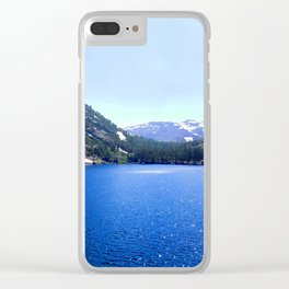 Azul Clear iPhone Case