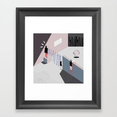 LOOK Framed Art Print
