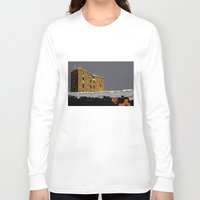 scotland Long Sleeve T-shirts featuring Scotland Winter by dacarrie