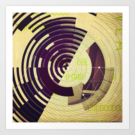 VLA / Misalignment Art Print