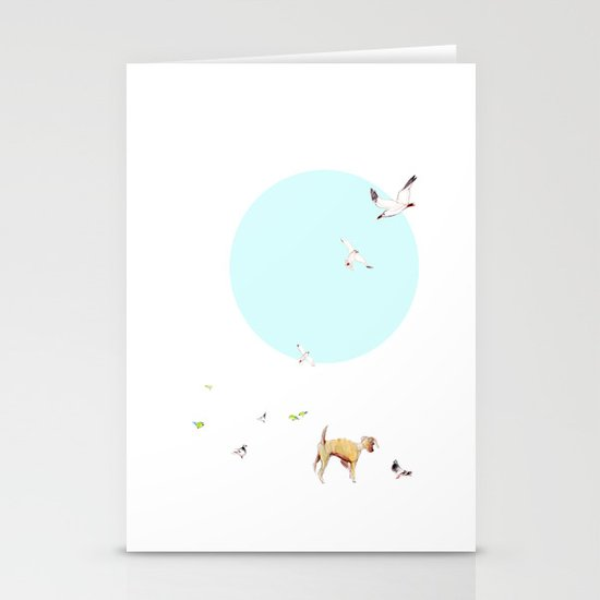 Animals of Barcelona Stationery Cards