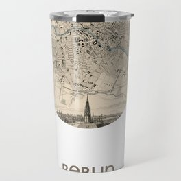 BERLIN GERMANY - city poster - city map poster print Travel Mug