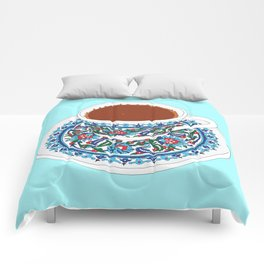 Turkish Coffee Comforters