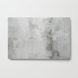 Reclaimed Abstract Expressions Metal Print