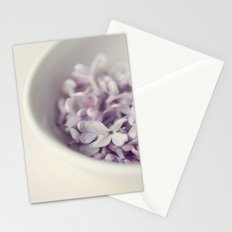 Bowl of Lilacs Stationery Cards