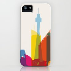 Shapes of Sydney. Accurate to scale iPhone (5, 5s) Slim Case