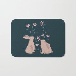 The bunnies lovers Bath Mat