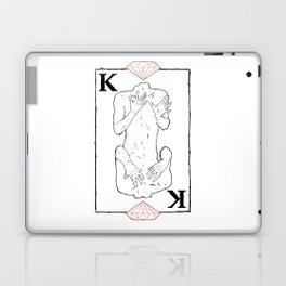 King of Diamonds Laptop & iPad Skin