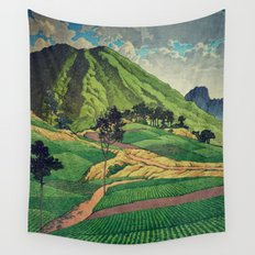 Crossing people's land in Iksey Wall Tapestry