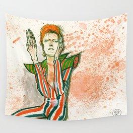 Schiele's Bowie Wall Tapestry