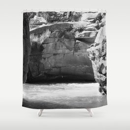 Devil's Punchbowl Shower Curtain