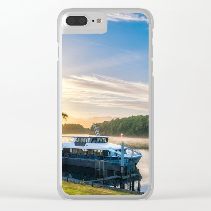 Sunrise Cruise to Doubtful Sound, New Zealand Clear iPhone Case