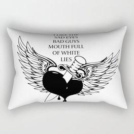 Halsey Lyrics Rectangular Pillow