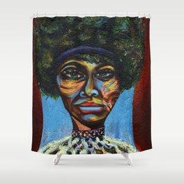 "Eunice ""Nina Simone"" Waymon Shower Curtain"