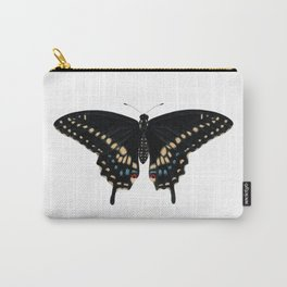 Black Swallowtail (Papilio polyxenes) Carry-All Pouch