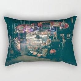 New york city Food Rectangular Pillow