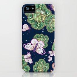 mischief in the garden iPhone Case
