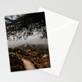Observatory in Los Angeles Stationery Cards