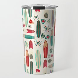 Surf's Up in the 1950's Travel Mug
