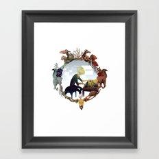 R S music Framed Art Print