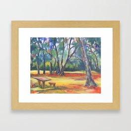 Under the Oaks Framed Art Print