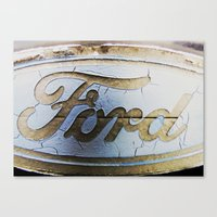 ford Canvas Prints featuring Ford by Sarah Welch