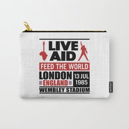 Live AID 1985 Carry-All Pouch