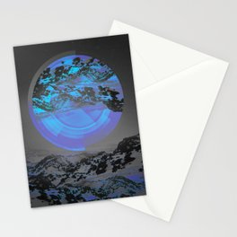 Neither Up Nor Down Stationery Cards