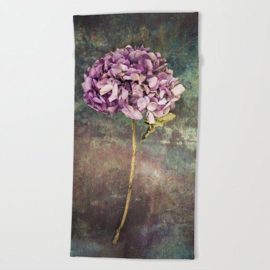 Beautiful Hydrangea Beach Towel