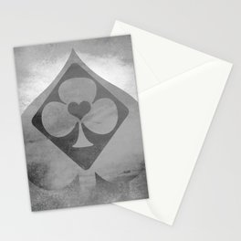Full of Aces (Grey Version) Stationery Cards