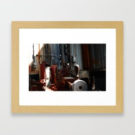Knob Framed Art Print