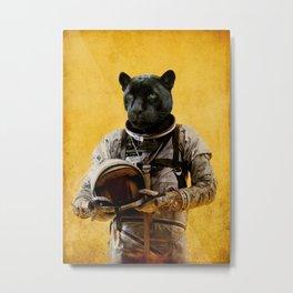 Space Jag Metal Print