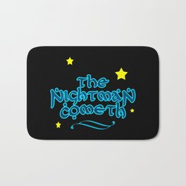 The Nightman Cometh Bath Mat