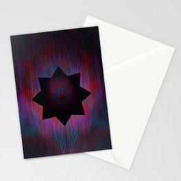 Positron Star Stationery Cards