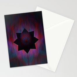 Positron Star Stationery Cards