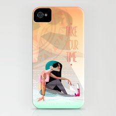 Take your time Slim Case iPhone (4, 4s)