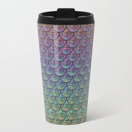 Rainbow Mermaid Scales Travel Mug