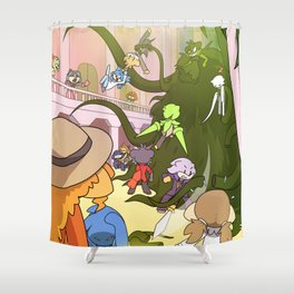 Ballroom Blitz Shower Curtain